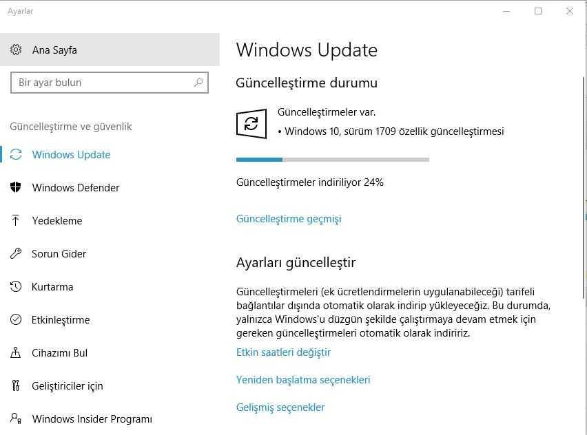 Windows 10'un Sonbahar Creators Güncellemesi