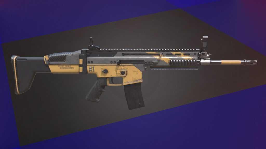 PUBG En iyi silah Scar-L