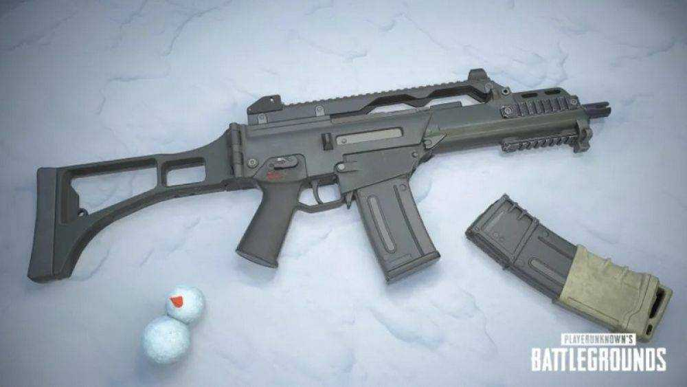 PUBG Yeni Silah G36C