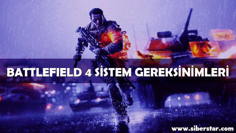Battlefied 4 Sistem Gereksinimleri