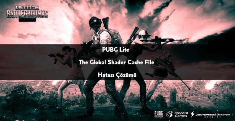 ошибка pubg the global shader cache file