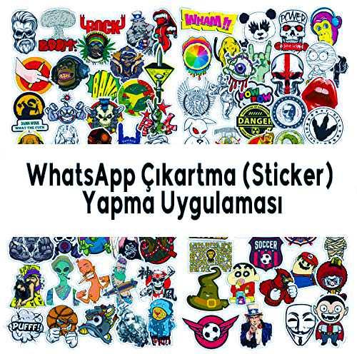 WhatsApp Çıkartma (Sticker) Yapma Uygulaması