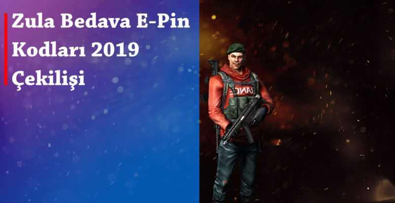 Zula Bedava E-Pin Kodları 2019 Çekilişi