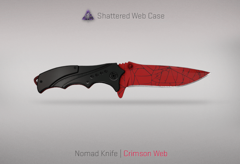 Nomad Knife - Crimson Web
