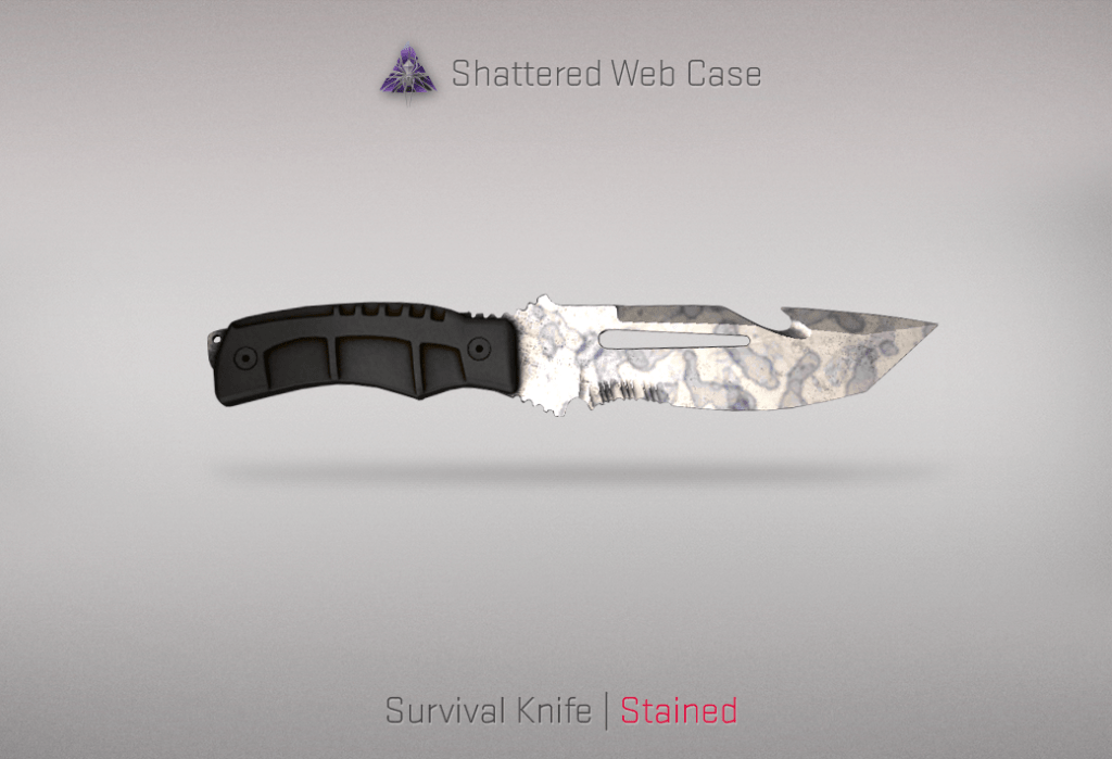Survival Knife - Stained