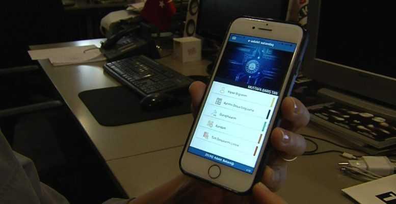E-Adalet Vatandaş (Mobil Vatandaş Bilgi Sistemi)