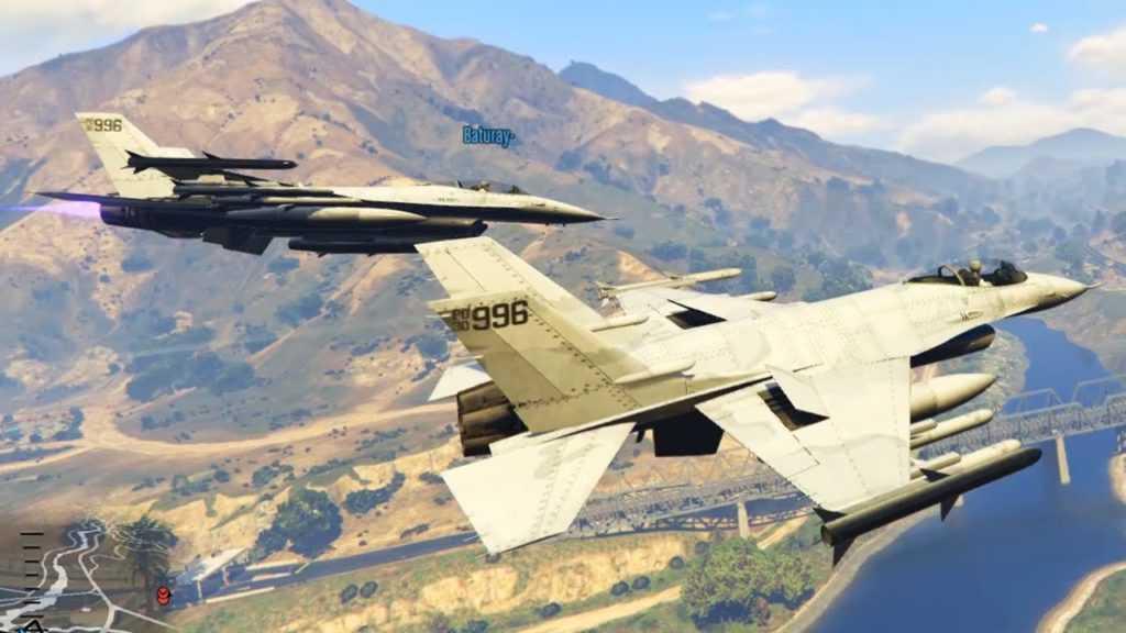 GTA 5 Uçak Hilesi - Kodları