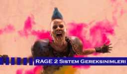 Rage 2 Sistem Gereksinimleri (PC, PS4, XBox)