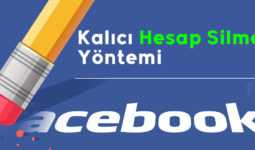 Facebook *Hesap Silme* En Basit Yöntemi