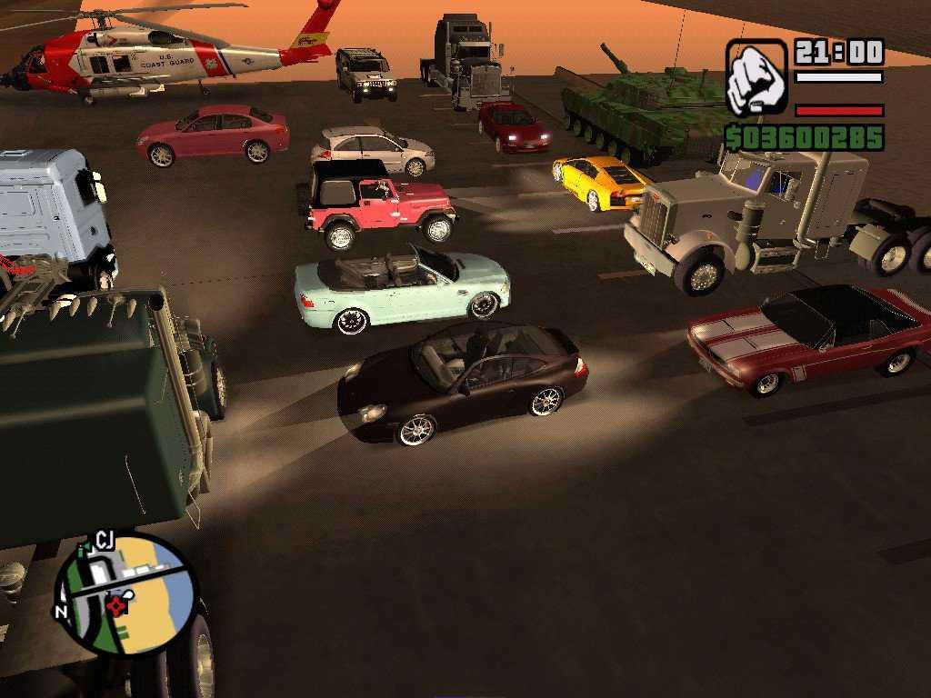 GTA SA: Araç Hileleri