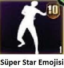 PUBG Süper Star Emojisi