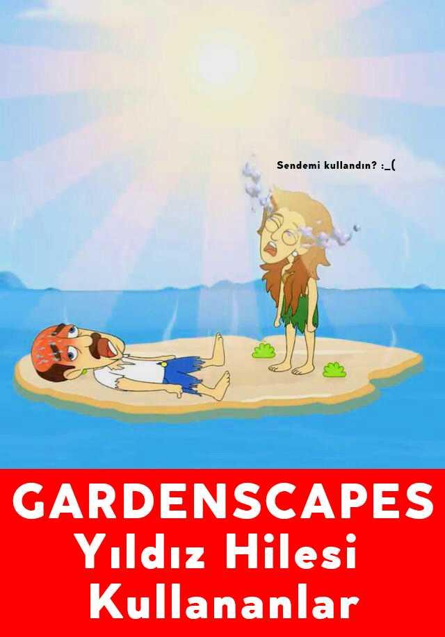 Gardenscapes Yıldız Hilesi