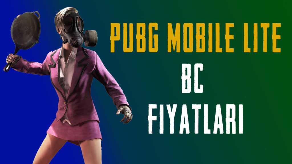PUBG Mobile Lite 2020 BC Fiyatları