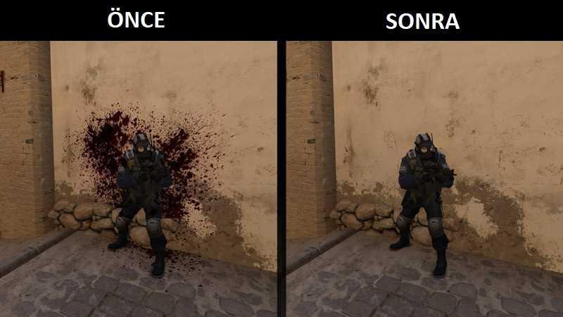 CS:GO Kan Silme Kodu