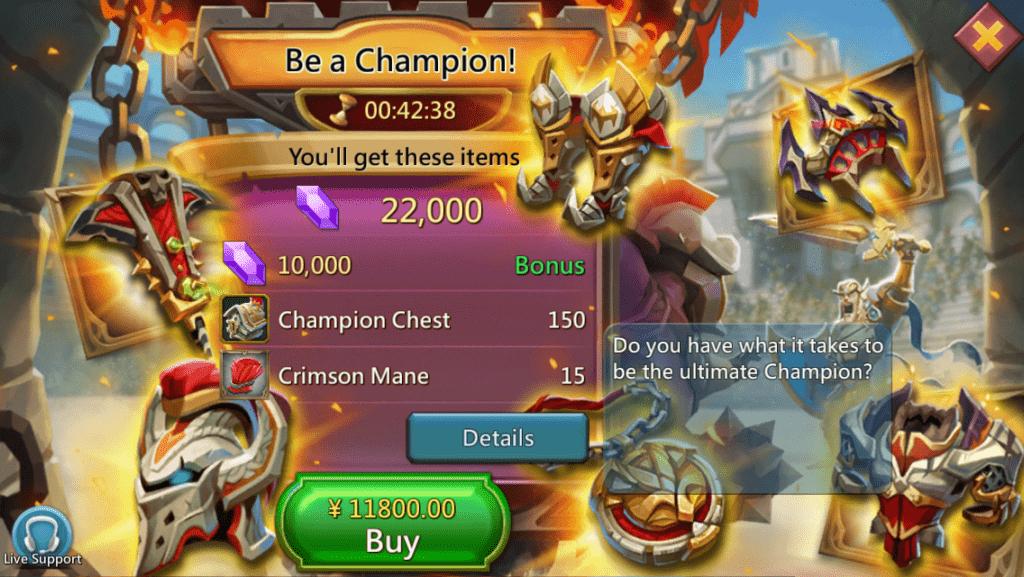 Lords Mobile Çin Fiyatları 1