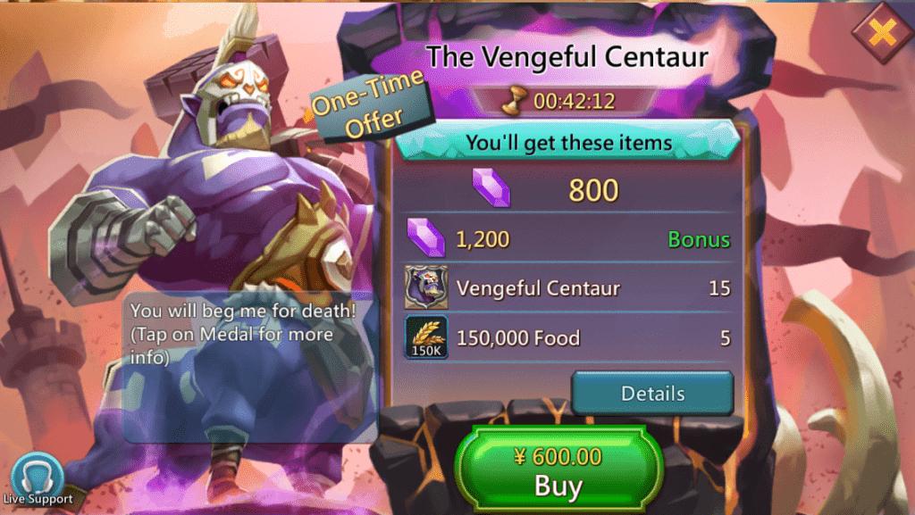 Lords Mobile Çin Fiyatları 4