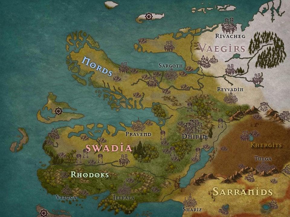 Mount and Blade Warband Hile: Bütün Harita