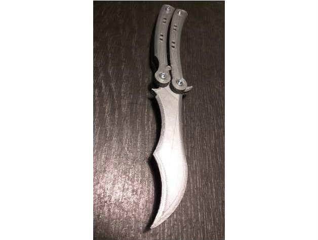 CS:GO Bıçakları: Kaliteli Kelebek Alıştırma