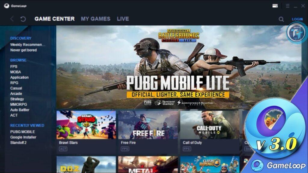 PUBG Mobile Gameloop Emulator İndir