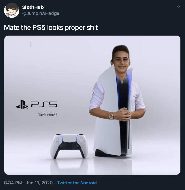 PS 5 Tasarımı Komik 3