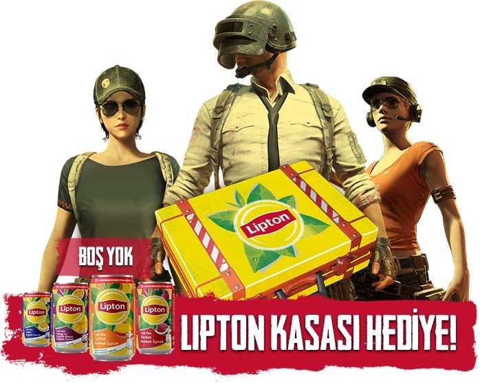 Lipton İce Tea PUBG Mobile Kodu
