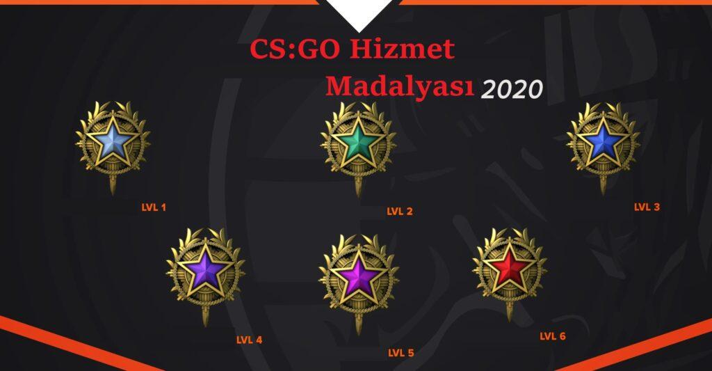 CS GO Hizmet Madalyası Nasıl Alınır?