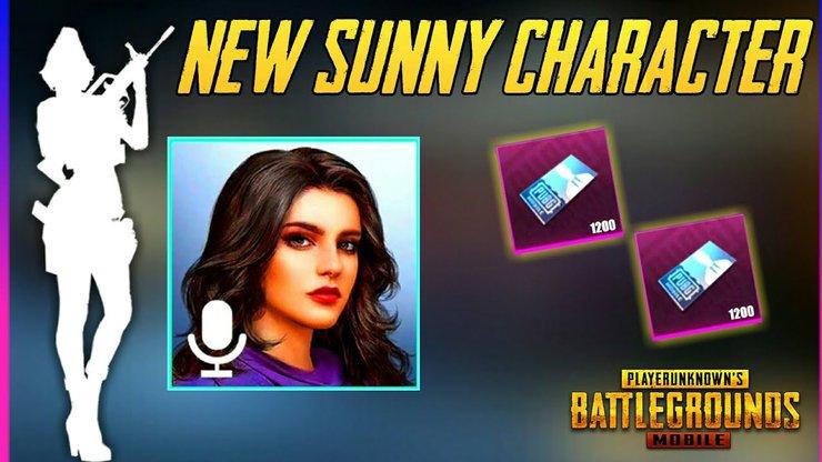 PUBG Mobile Yeni Karakter: Sunny