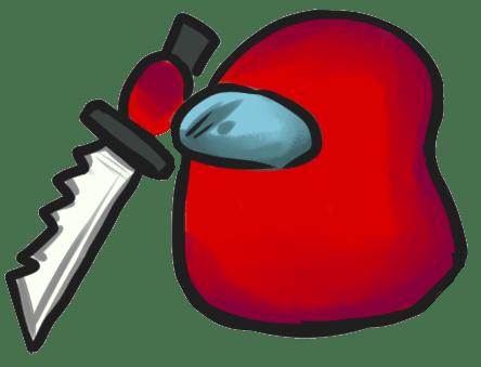 Among Us Emoji: Kırmızı