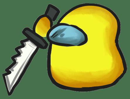 Among Us Emoji: Sarı
