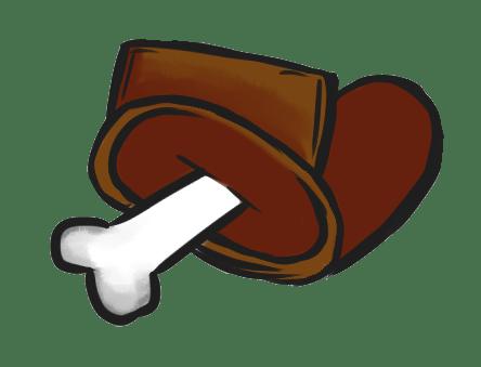 Among Us Emoji: Kahverengi