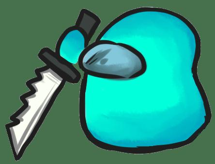 Among Us Emoji: Turkuaz