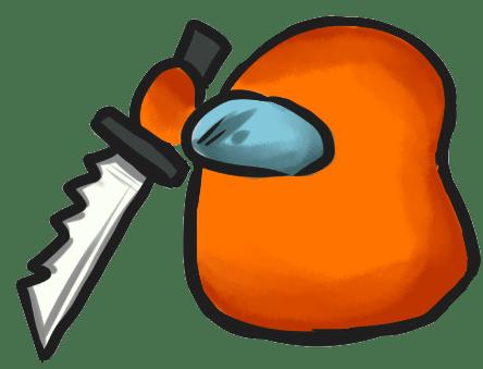 Among Us Emoji: Turuncu