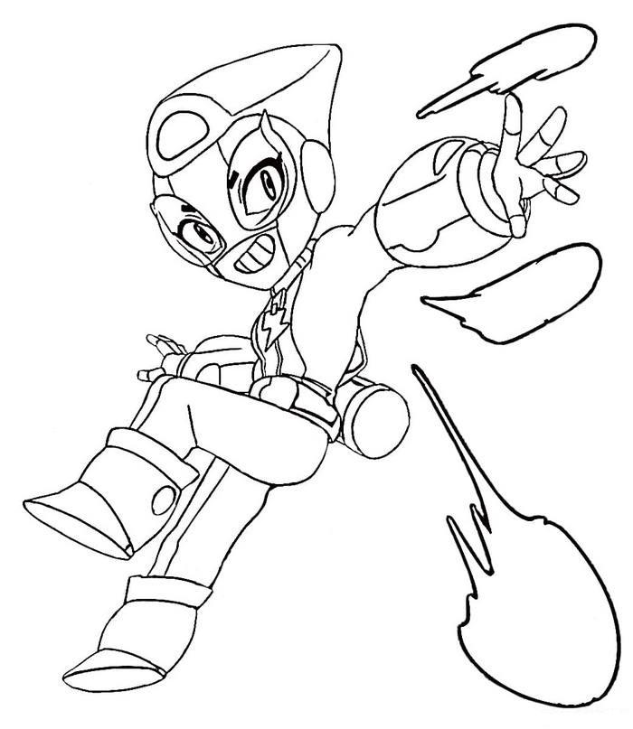 Brawl Stars Karakterleri Boyama: MAX