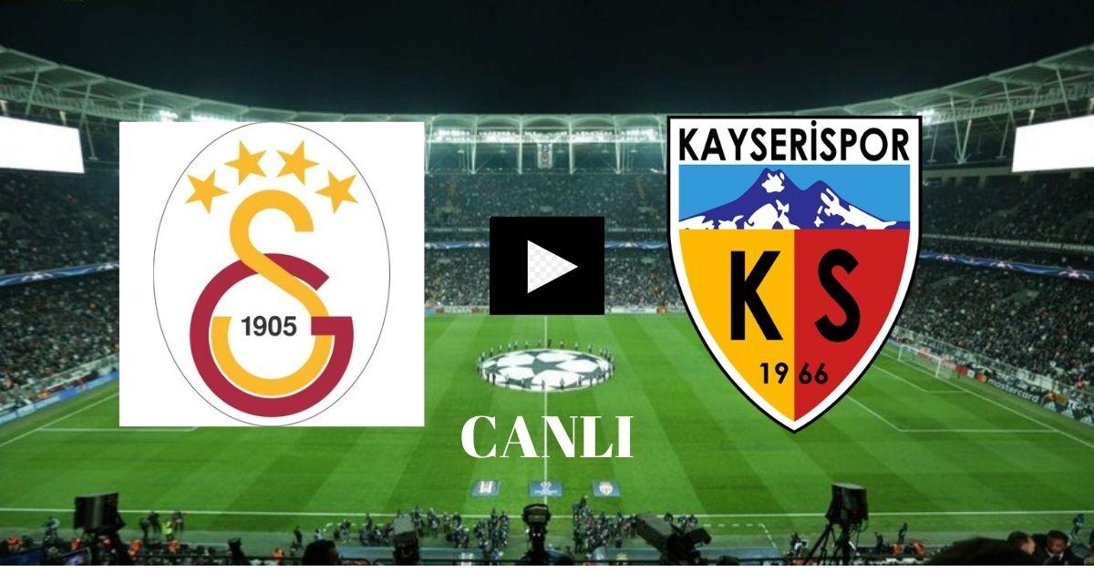 Galatasaray Kayserispor Maçı Canlı İzle Bedava Link