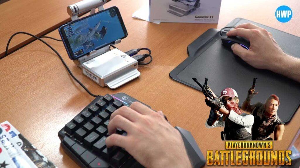 PUBG Mobile Telefon Konsolu: Klavye ve Mouse