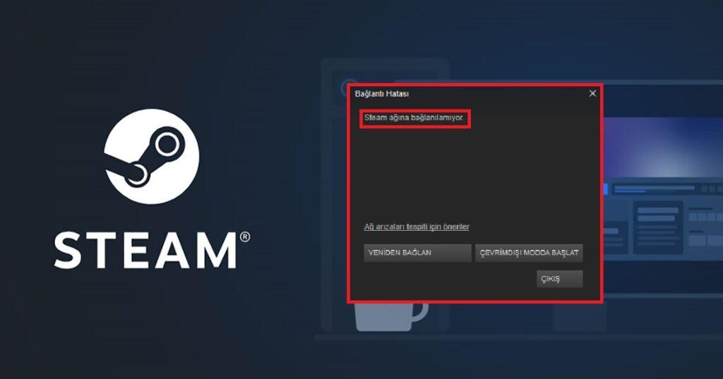 Steam Ağına Bağlanılamıyor Hatası Çözümü