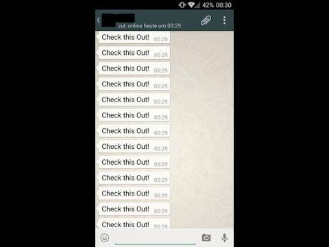 WhatsApp Bombalama Mesaj Nasıl Yapılır?