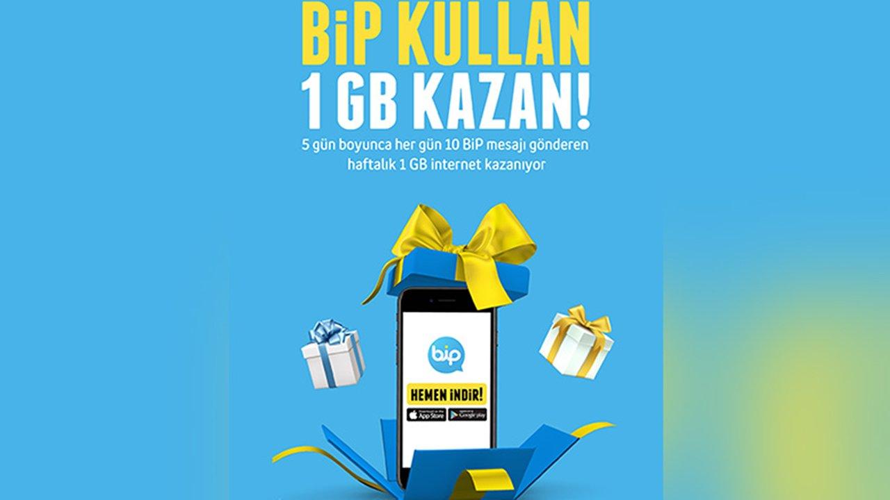 BİP Kullan Kazan (2 GB) Bedava İnternet Kazan