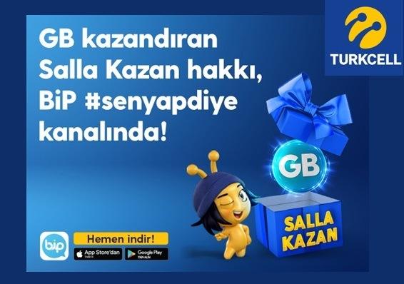 BİP Salla Kazan (1 GB) Bedava İnternet Kazan