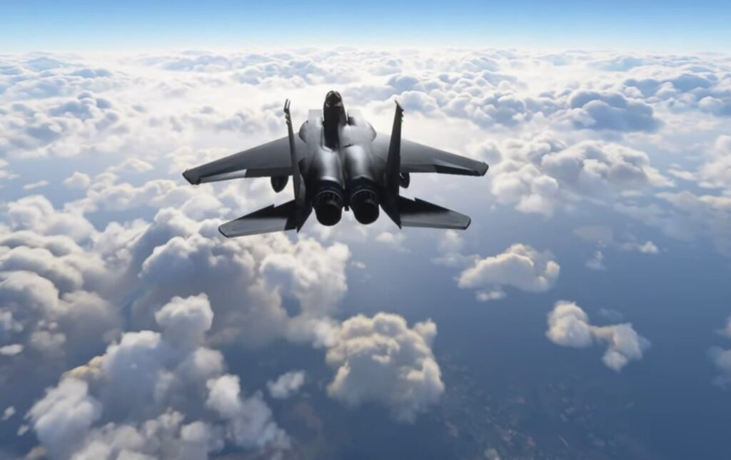 Microsoft Flight Simulator F-15 Modu