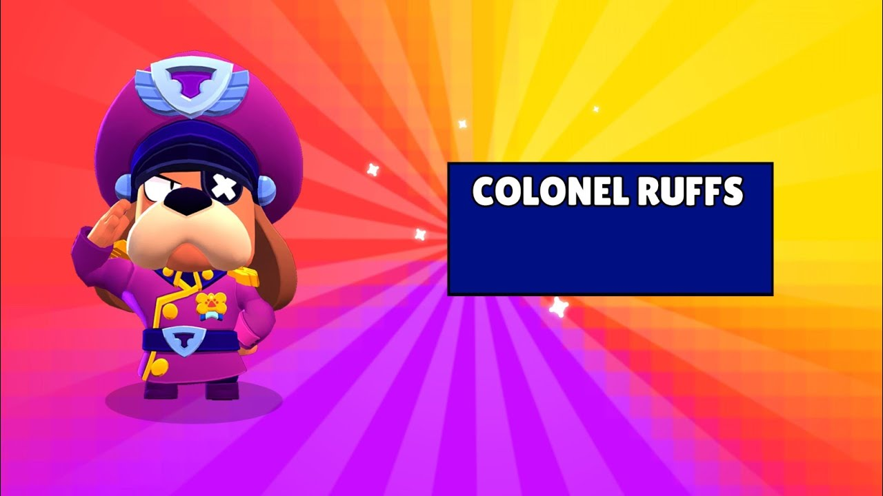 Brawl Stars Colonel Ruffs APK