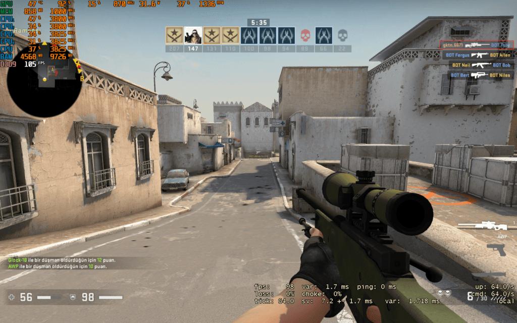 CS GO FPS Gösterme Rehberi (2021)