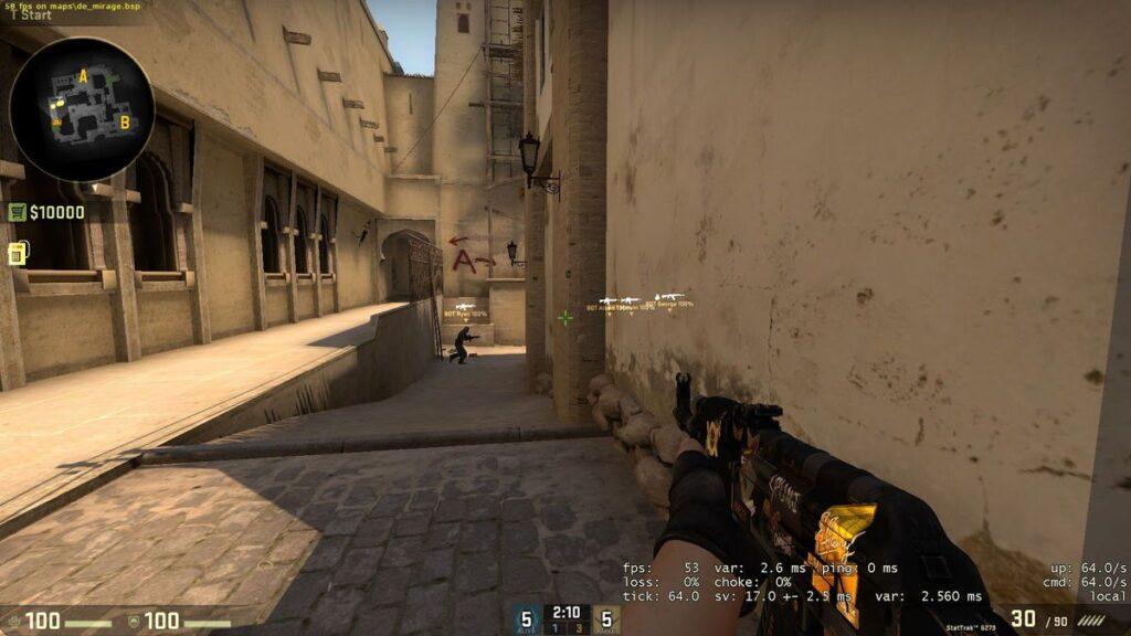 CS GO FPS Gösterme Tuşu
