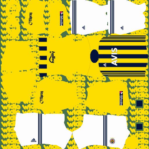 DLS 2021 Fenerbahçe (FB) Forması URL