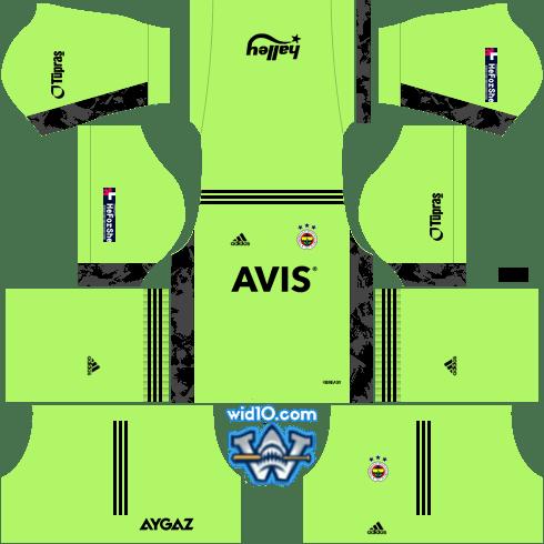 DLS 2021 Fenerbahçe (FB) Kaleci Forması URL