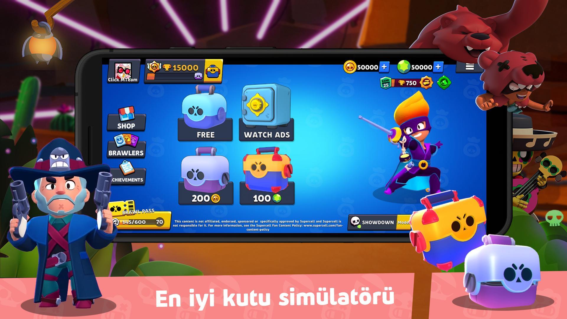 Box Simulator for Brawl Stars APK İndir