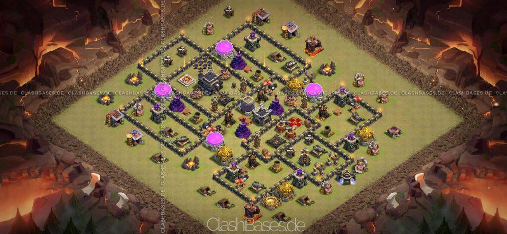Clash of Clans Köy Düzenleri 2021 - Belediye Binası Seviye 9