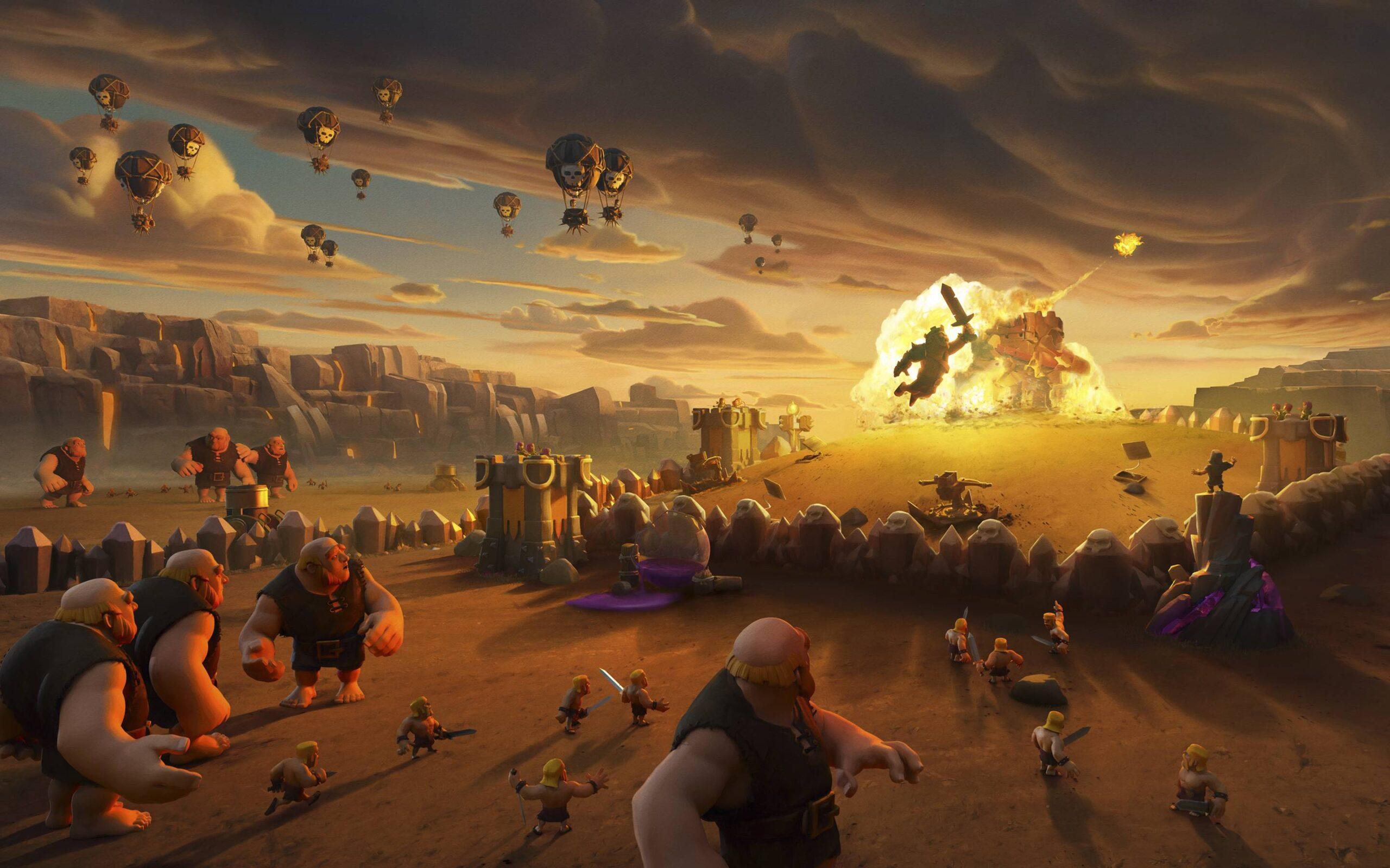 Clash of Clans Köy Düzenleri (Tüm Seviyeler) 2021