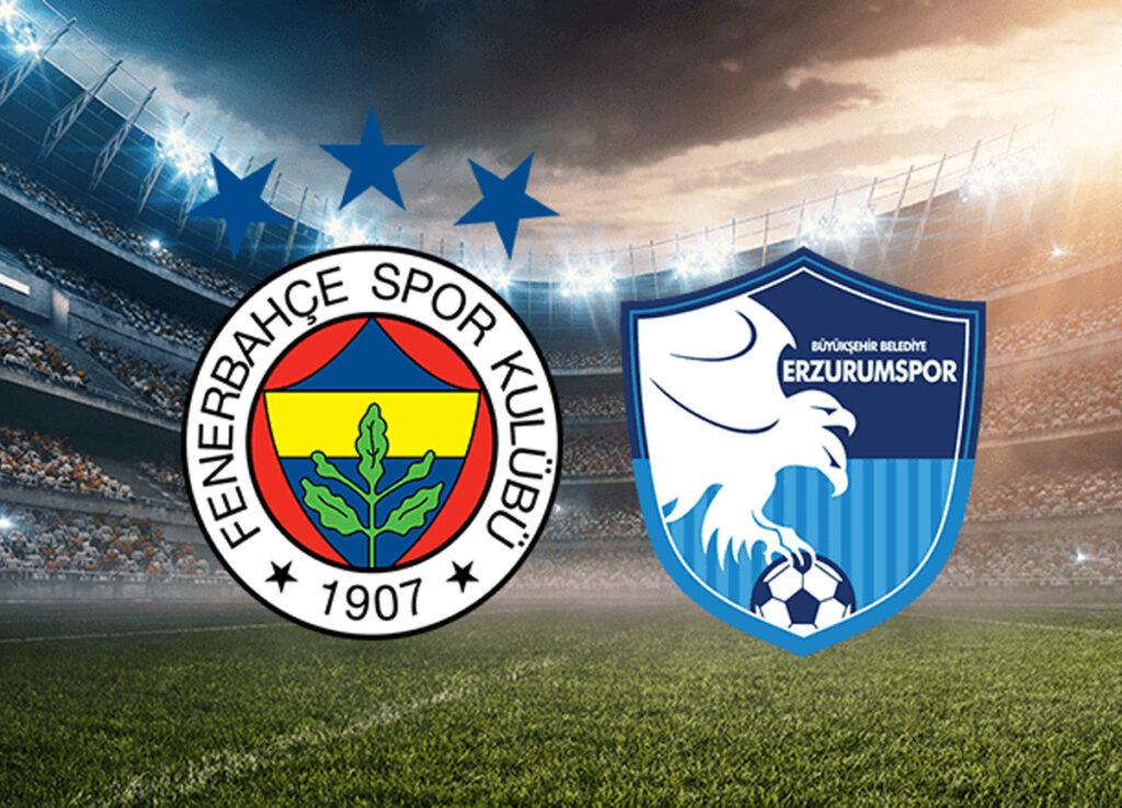 Fenerbahçe Erzurumspor Maçı Canlı İzle Bedava Link - 2021