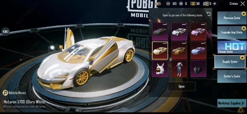 PUBG Mobile McLaren 570S Ne Zaman Gelecek?